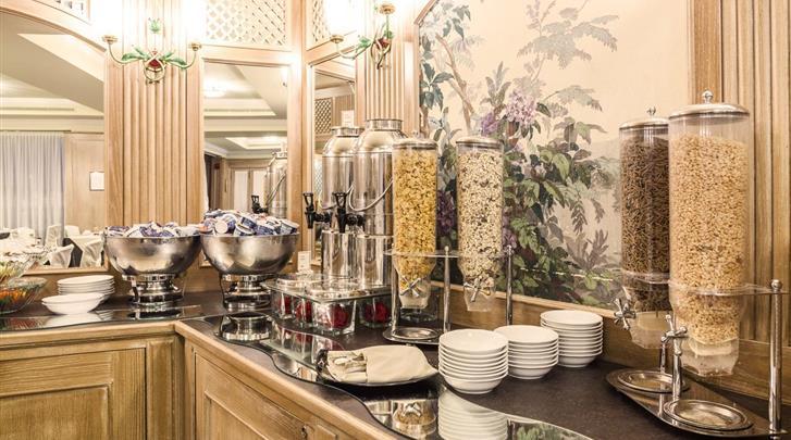 Milaan, Hotel Doria Grand, Ontbijt