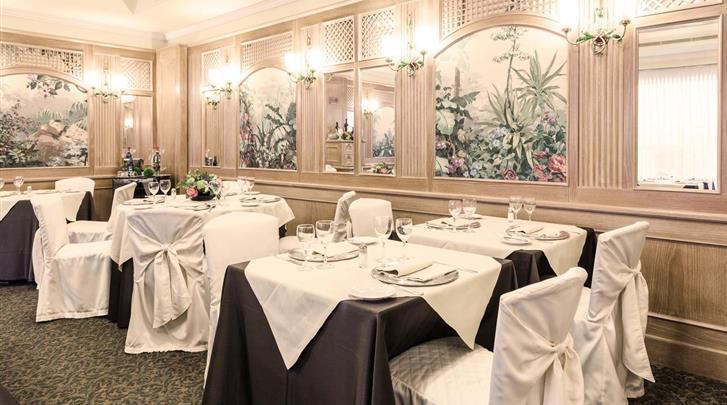 Milaan, Hotel Doria Grand, Restaurant