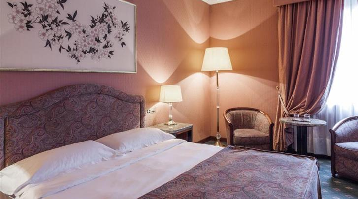Milaan, Hotel Doria Grand, Standaard kamer