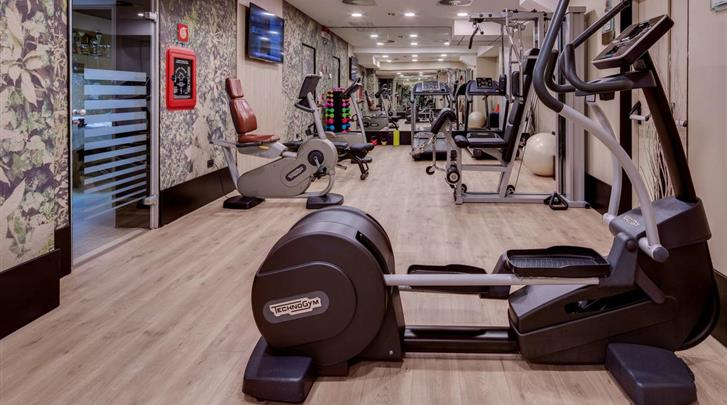 Milaan, Hotel Galles, Fitnessruimte