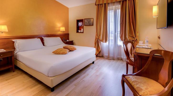 Milaan, Hotel Galles, Standaard kamer