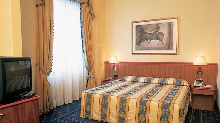 Milaan, Hotel Lloyd, Standaard kamer