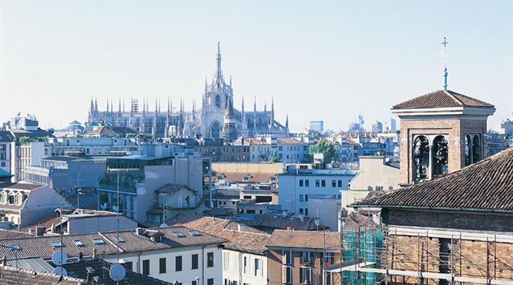 Milaan, Hotel Lloyd, Uitzicht
