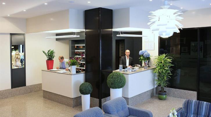 Milaan, Hotel Mennini, Receptie