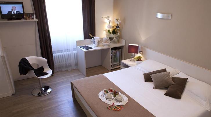 Milaan, Hotel Mennini, Standaard kamer