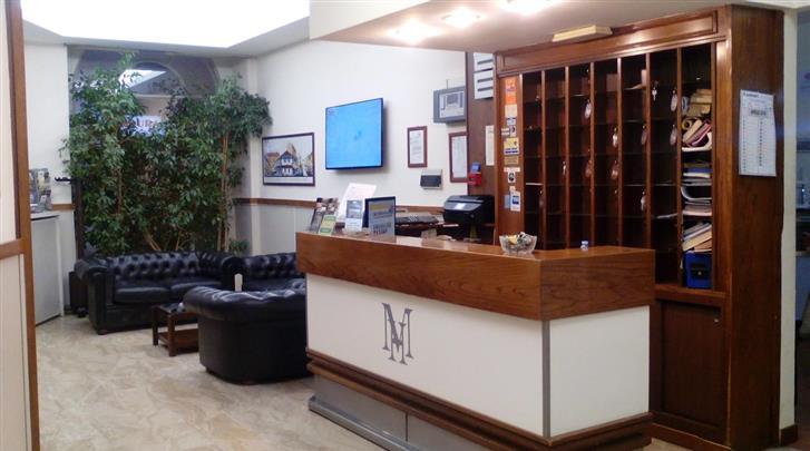 Milaan, Hotel Minerva, Receptie