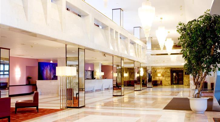 Moskou, Hotel Aerostar, Lobby