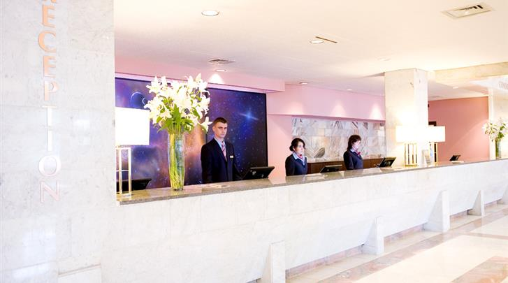 Moskou, Hotel Aerostar, Receptie