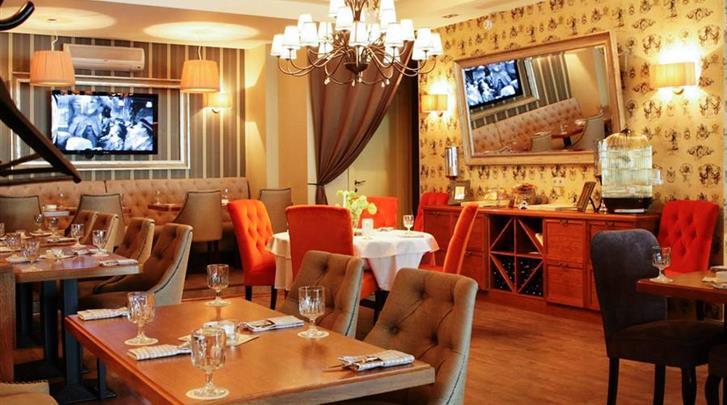 Moskou, Hotel Arbat House, Restaurant
