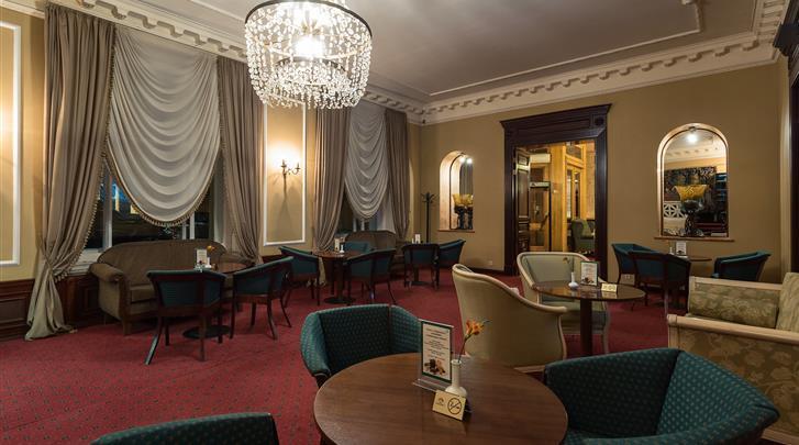 Moskou, Hotel Budapest Moscow, Lobby