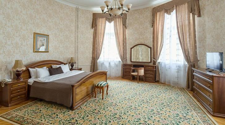Moskou, Hotel Budapest Moscow, Standaard kamer