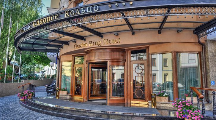 Moskou, Hotel Garden Ring, Façade hotel