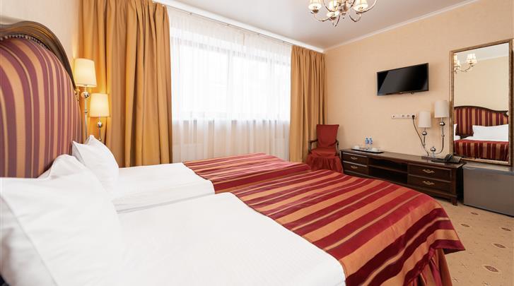 Moskou, Hotel Pushkin, Standaard kamer