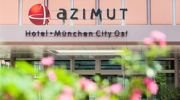 München, Hotel Azimut München City-Ost, Façade hotel