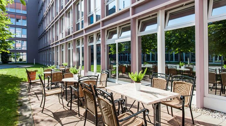 München, Hotel Azimut München City-Ost, Terras