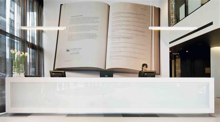München, Hotel Eurostars Book, Receptie