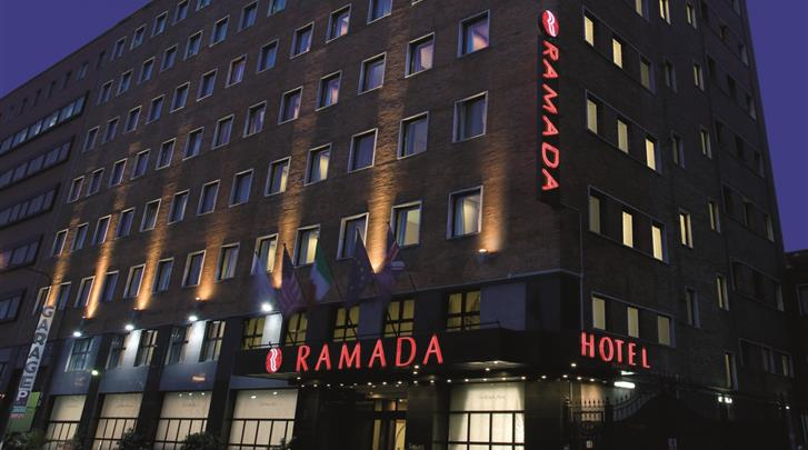 Napels, Hotel Ramada Naples, Façade hotel