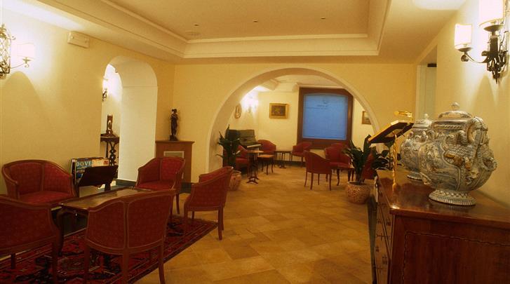 Napels, Hotel Real Orto Botanico, Lounge