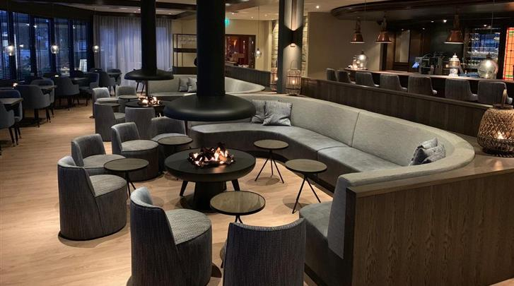 Nederland, Ameland, Hotel Noordsee, Hotel bar