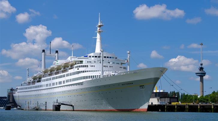 Nederland, Rotterdam, Hotel SS Rotterdam, Façade hotel