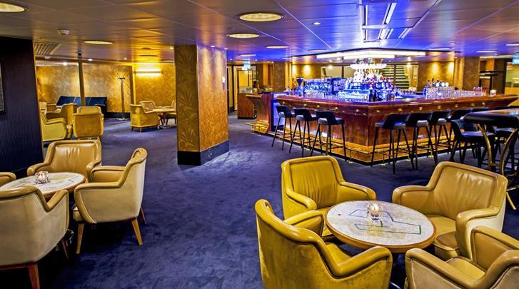 Nederland, Rotterdam, Hotel SS Rotterdam, Hotel bar