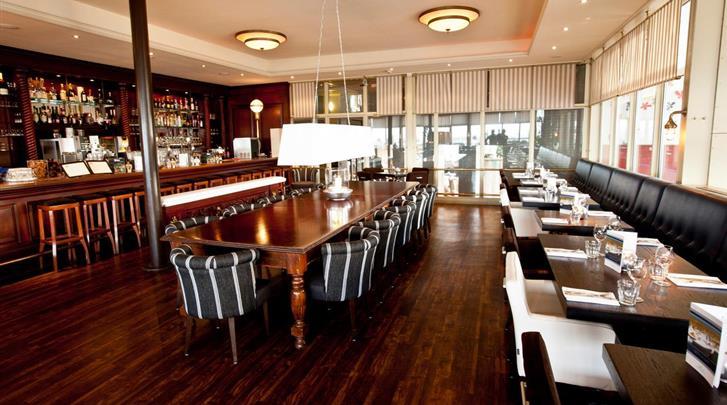 Nederland, Vlieland, Strandhotel Seeduyn, Hotel bar