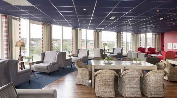 Nederland, Vlieland, Strandhotel Seeduyn, Lobby