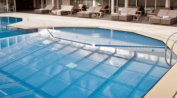 Nederland, Vlieland, Strandhotel Seeduyn, Zwembad