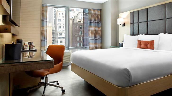 New York, Cambria Hotel & Suites Times Square, Standaard kamer