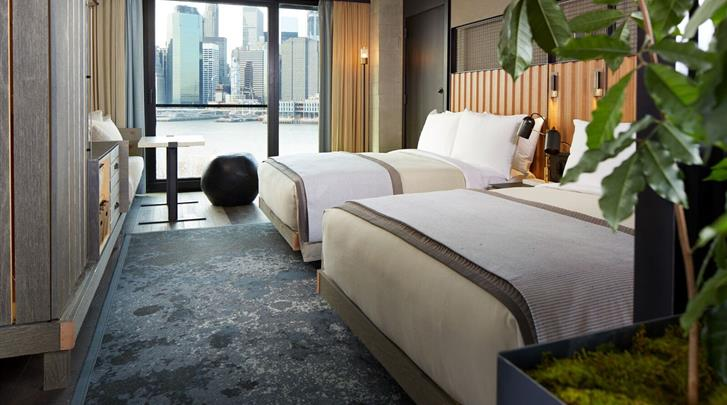 New York, Hotel 1 Brooklyn Bridge, Standaard kamer