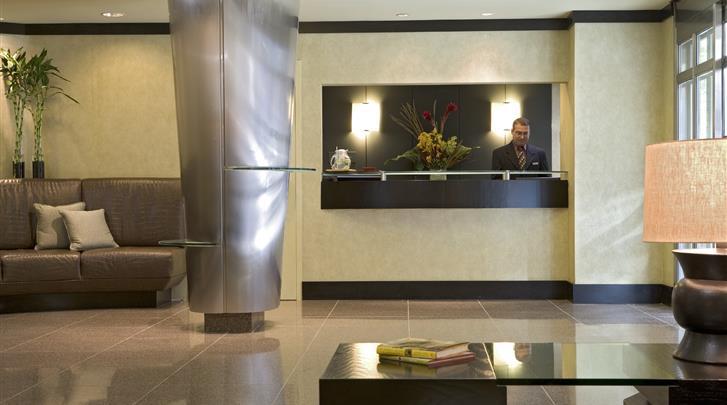 New York, Gardens NYC - an Affinia Hotel, Receptie