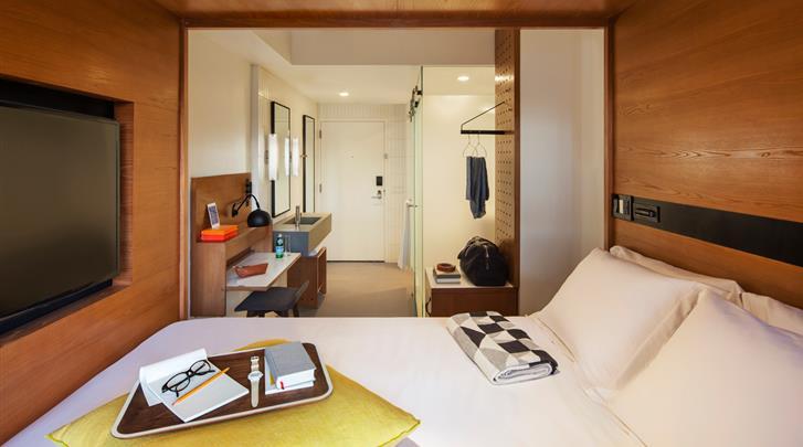 New York, Hotel Arlo SoHo, Standaard kamer