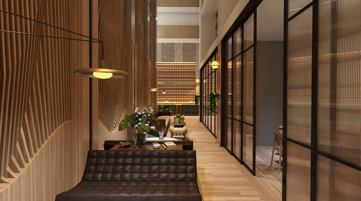 New York, Hotel Arlo Midtown Times Square, Lobby