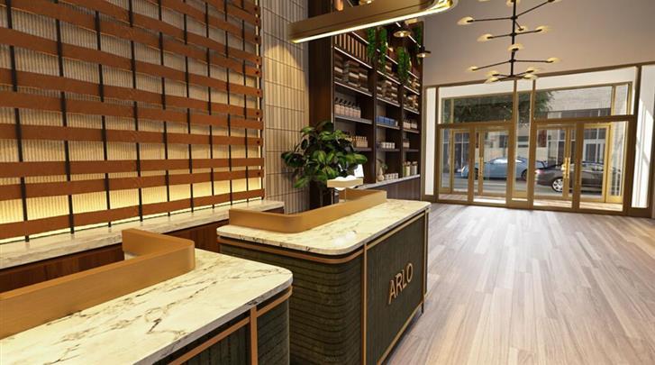 New York, Hotel Arlo Midtown Times Square, Receptie