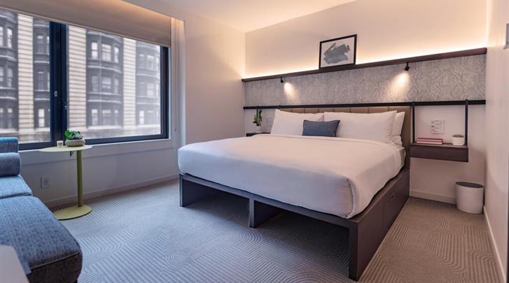 New York, Hotel Arlo Midtown Times Square, Standaard kamer
