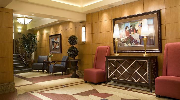 New York, Hotel Belvedere, Lobby