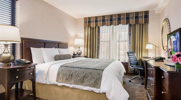 New York, Hotel Belvedere, Standaard kamer