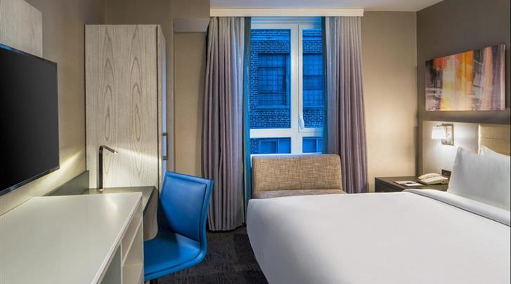 New York, Hotel DoubleTree by Hilton New York Times Square West, King-bed kamer