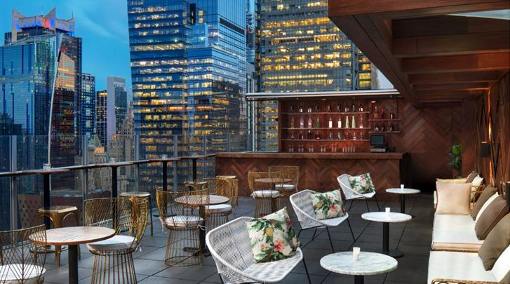 New York, Hotel DoubleTree by Hilton New York Times Square West, Rooftop