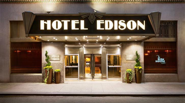 New York, Hotel Edison NYC, Façade hotel