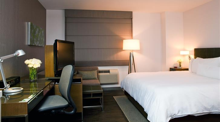 New York, Hotel The Element New York Times Square West, Deluxe kamer