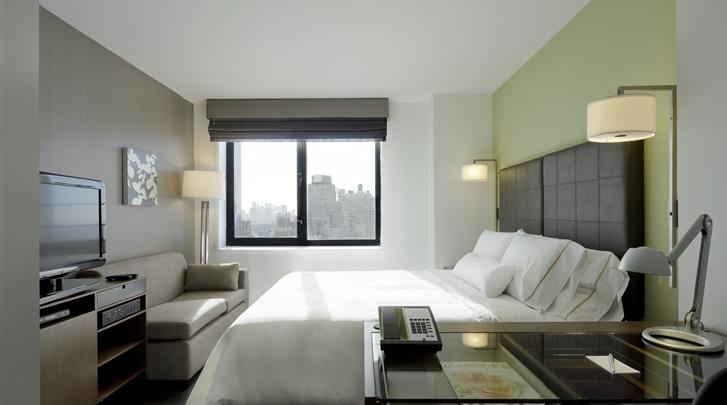 New York, Hotel The Element New York Times Square West, Standaard kamer