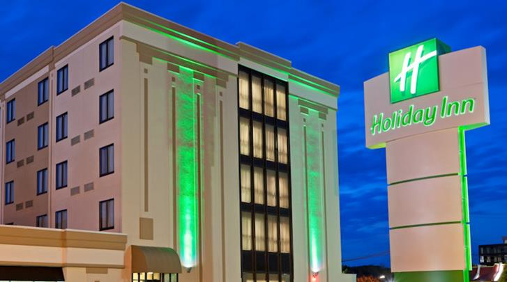 New York, Hotel Holiday Inn Hasbrouck Heights, Façade hotel