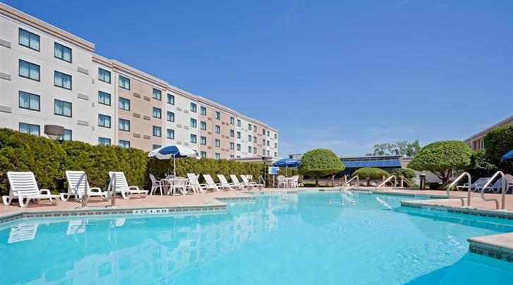New York, Hotel Holiday Inn Hasbrouck Heights, Zwembad