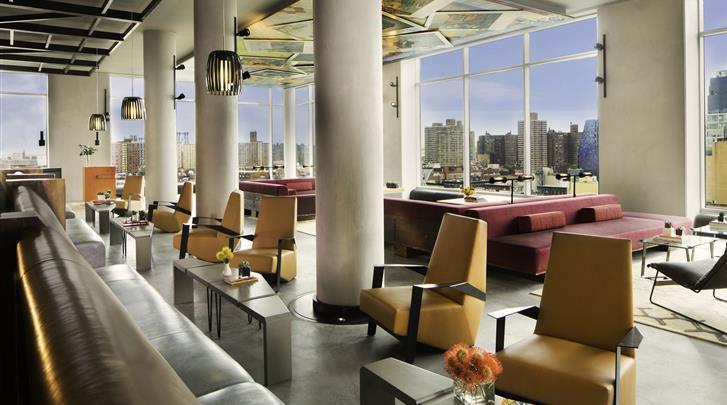 New York, Hotel Indigo Lower East Side New York, Rooftop bar