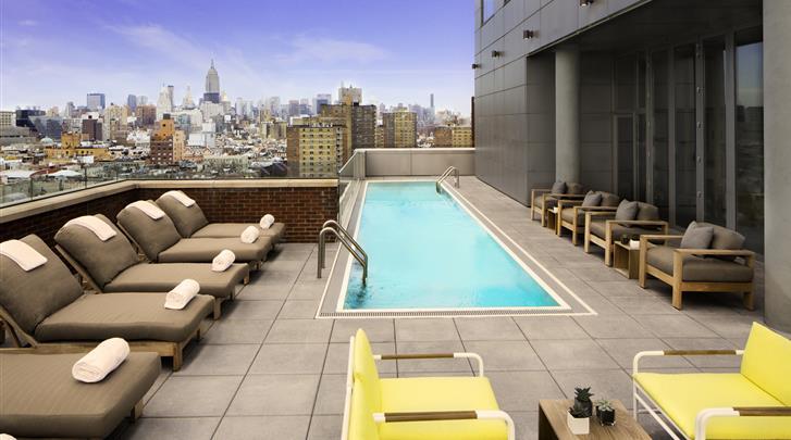 New York, Hotel Indigo Lower East Side New York, Zwembadje