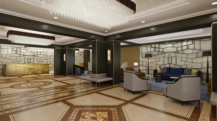 New York, Hotel Martinique on Broadway, Lobby