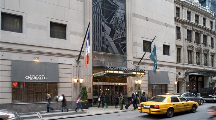 New York, Hotel Millennium Broadway, Façade hotel