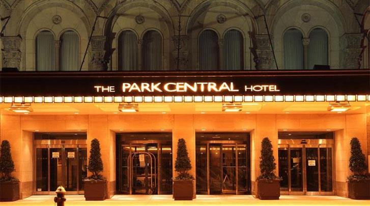 New York, Hotel Park Central, Façade hotel