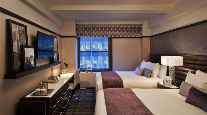 New York, Hotel Park Central, Standaard kamer